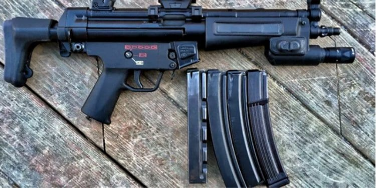 A look at 9mm MP5 magazines.