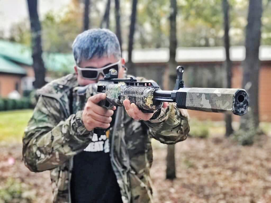 Shooting the High Point 10mm carbine suppressed