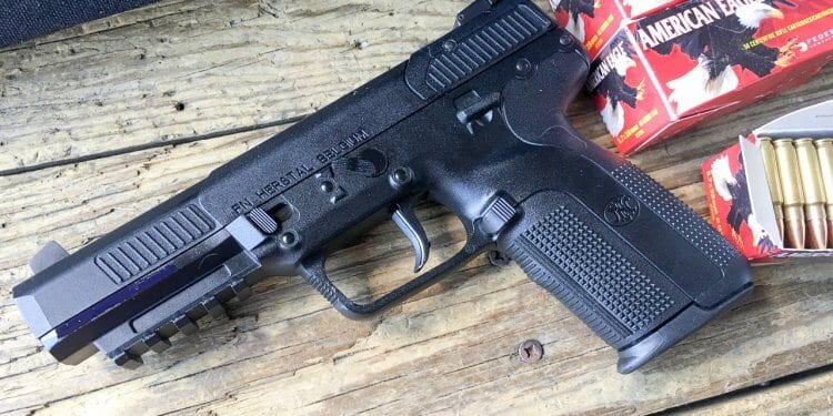 FN's Fast and Tiny Five-Seven Pistol - The Mag Life