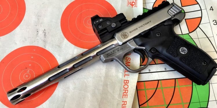 The Smith & Wesson SW22 Victory is completely customizable.