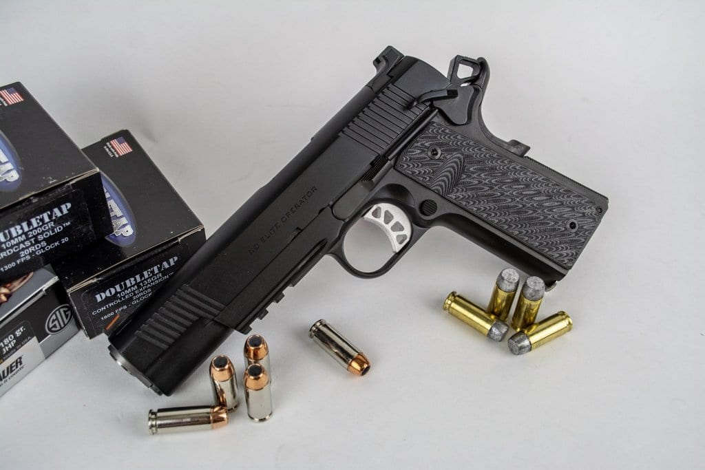 10mm or  45 ACP? The Springfield Armory TRP - The Mag Life
