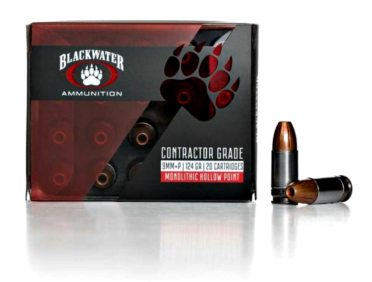 New Ammunition from Blackwater: 9mm Contractor Grade.