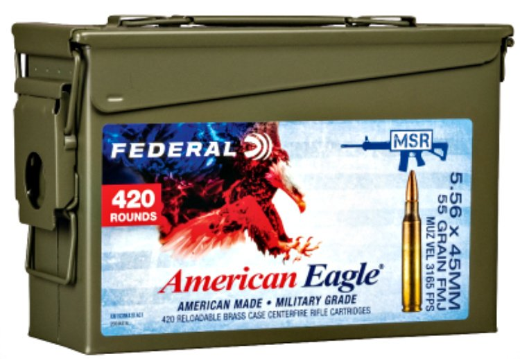 These new ammunition cans are available in three 420-count pack options.