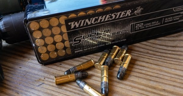 Winchester Super Suppressed .22LR Ammo