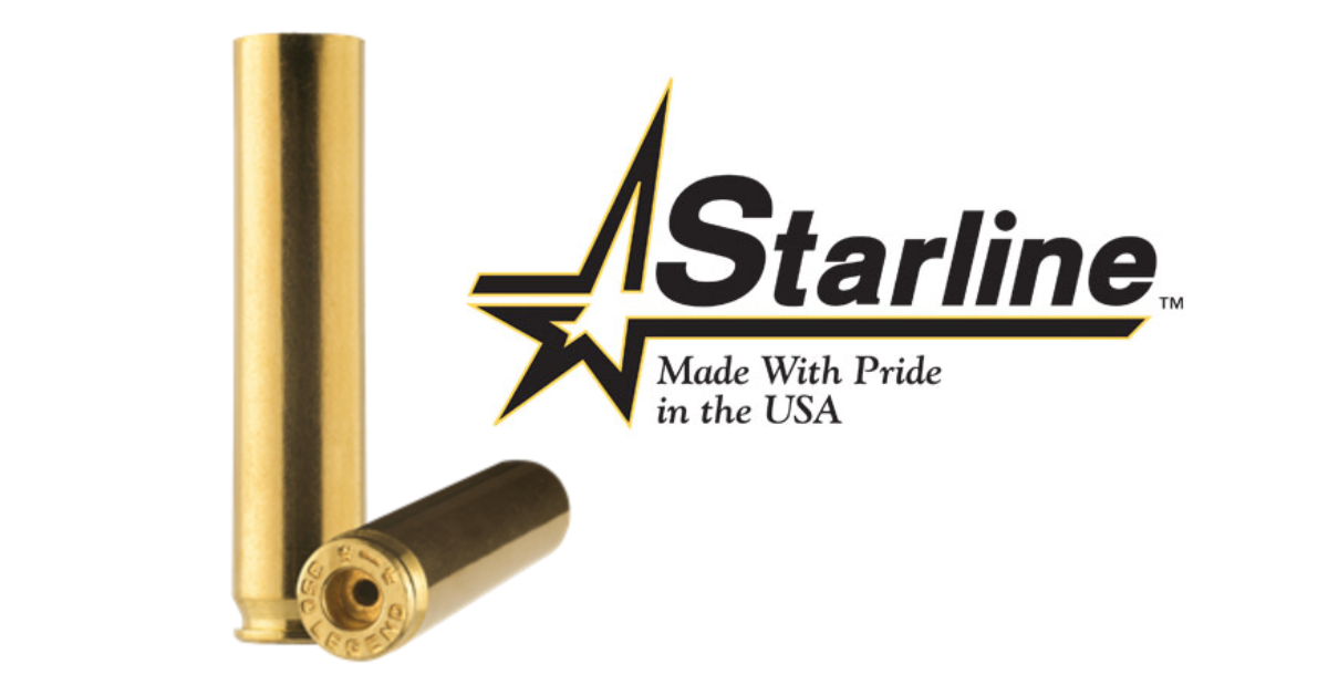 Starline Brass .350 Legend - 5X5 gun news