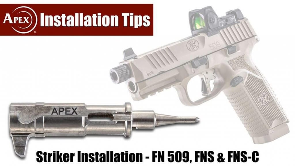 Apex Tactical heavy duty striker for FN pistols