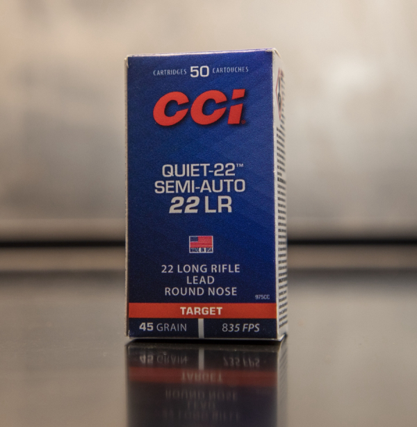 "Ammunition Depot - CCI Quiet - 22"" - Semi-Auto"