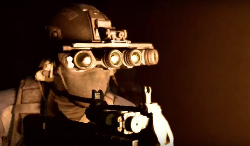 Use of night vision in Call of Duty Modern Warfare is reportedly a big part of the game.