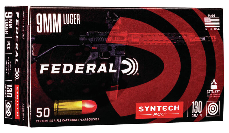 Ammunition Depo - Federal Syntech PCC ammo 9mm Luger