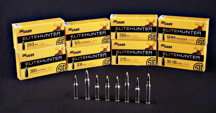 Ammunition Depot - Sig Sauer Elite Hunter Tipped Ammunition