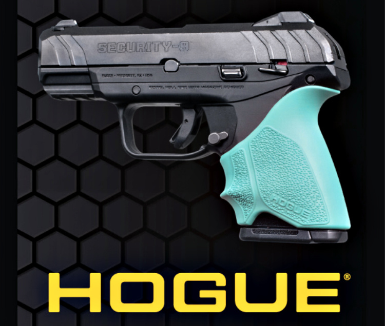 Gun News - Hogue HandALL Geavertail Grip sleeve for Ruger Security 9 Compact