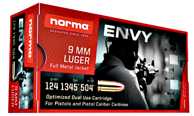Ammunition Depot - Norma Envy 9mm PCC.