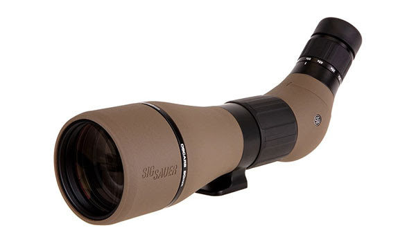 Gun News - Sig Sauer OSCAR8 Variable Power Spotting Scope