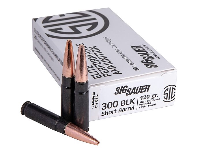 Ammunition Depot - Sig Sauer SBR Elite Copper Duty Ammunition for Short Barrel Rifles
