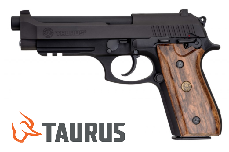 Gun News- Taurus PT 92 with Brazilian Walnut Grips