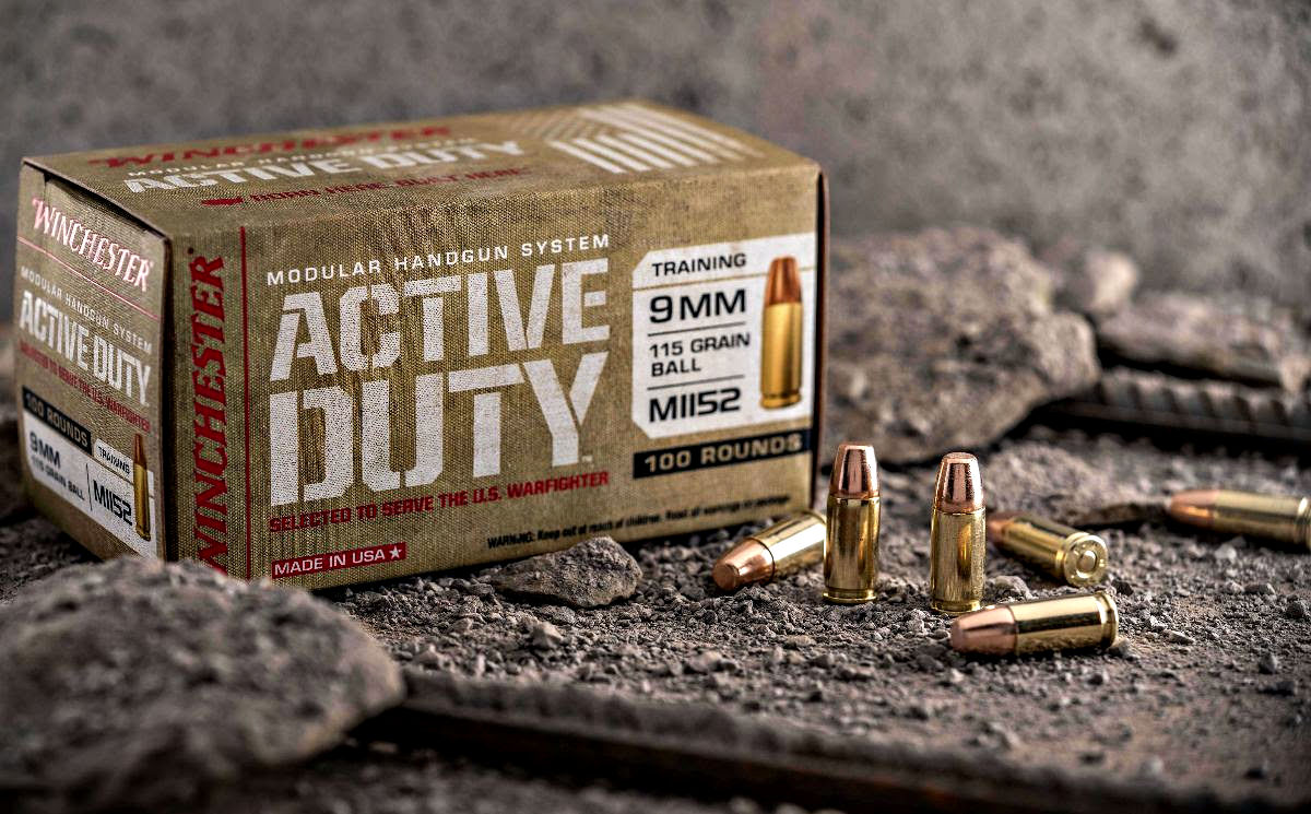 Ammunition Depot - Winchester Active Duty MHS Training Ammunition
