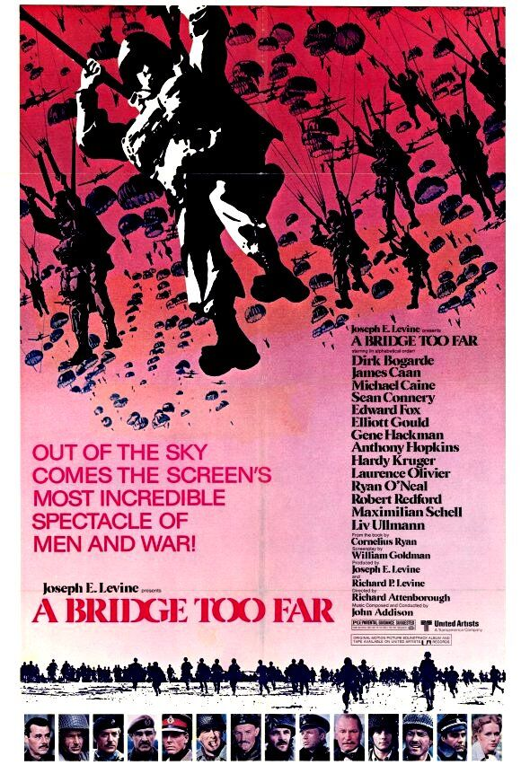 Operation Market Garden - A Bridge Too Far movie poster.