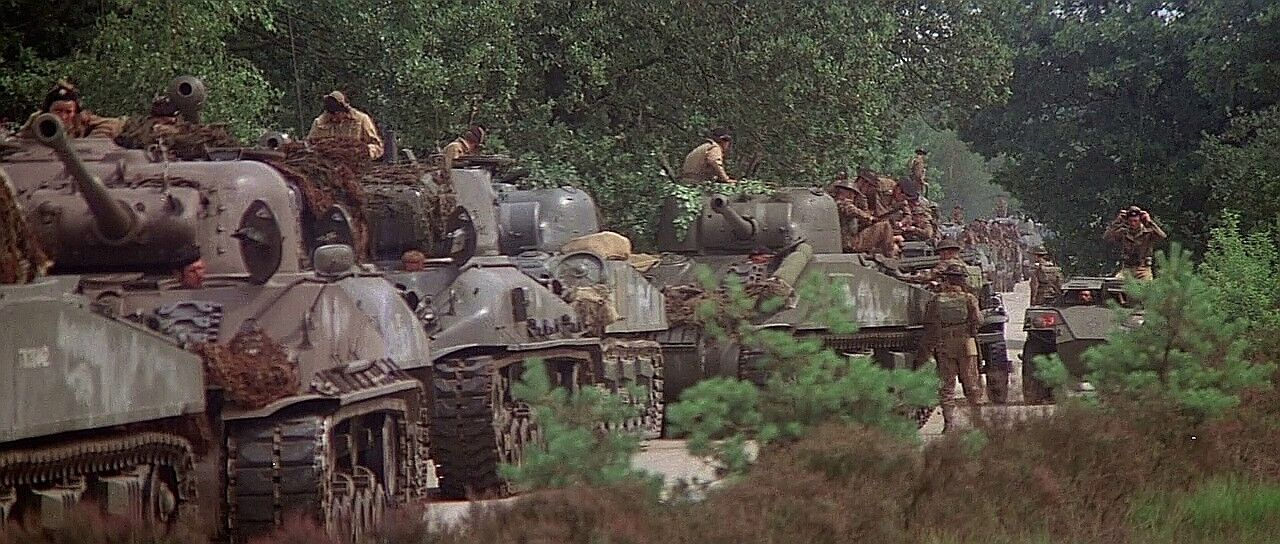 Shermans in Bridge too Far - Operation Market Garden