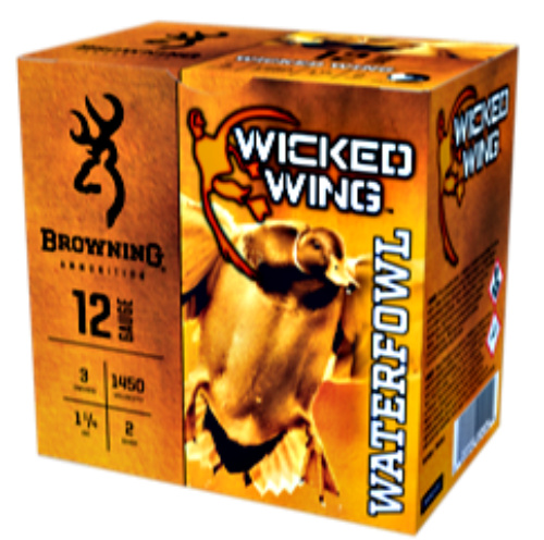 Ammunition Depot- Browning Wicked Wings Waterfowl 12-gauge shotshells.