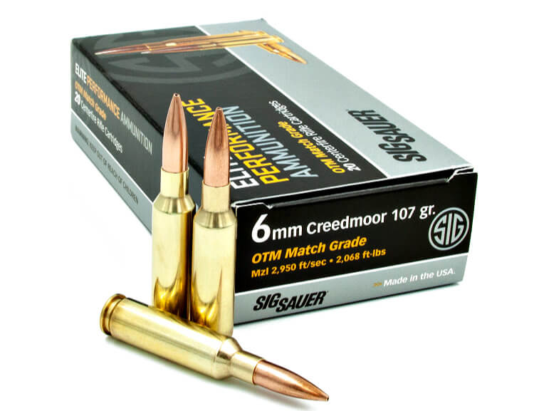 Ammunition Depot - Sig Sauer 6mm Creedmoor.