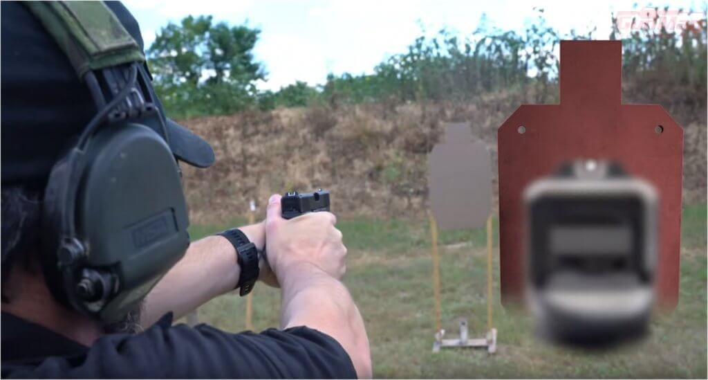 how to aim a pistol and shoot accurately