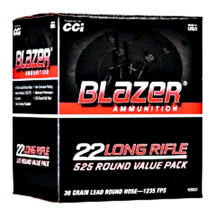 Ammunition Depot: Blazer 22 LR Bulk Packs.