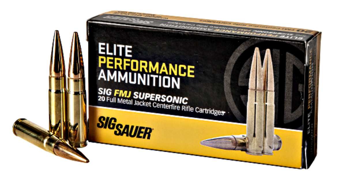 Ammunition Depot: Sig says their new FMJ ammunition is ideal for those seeking cost-efficient, high-quality training rounds.