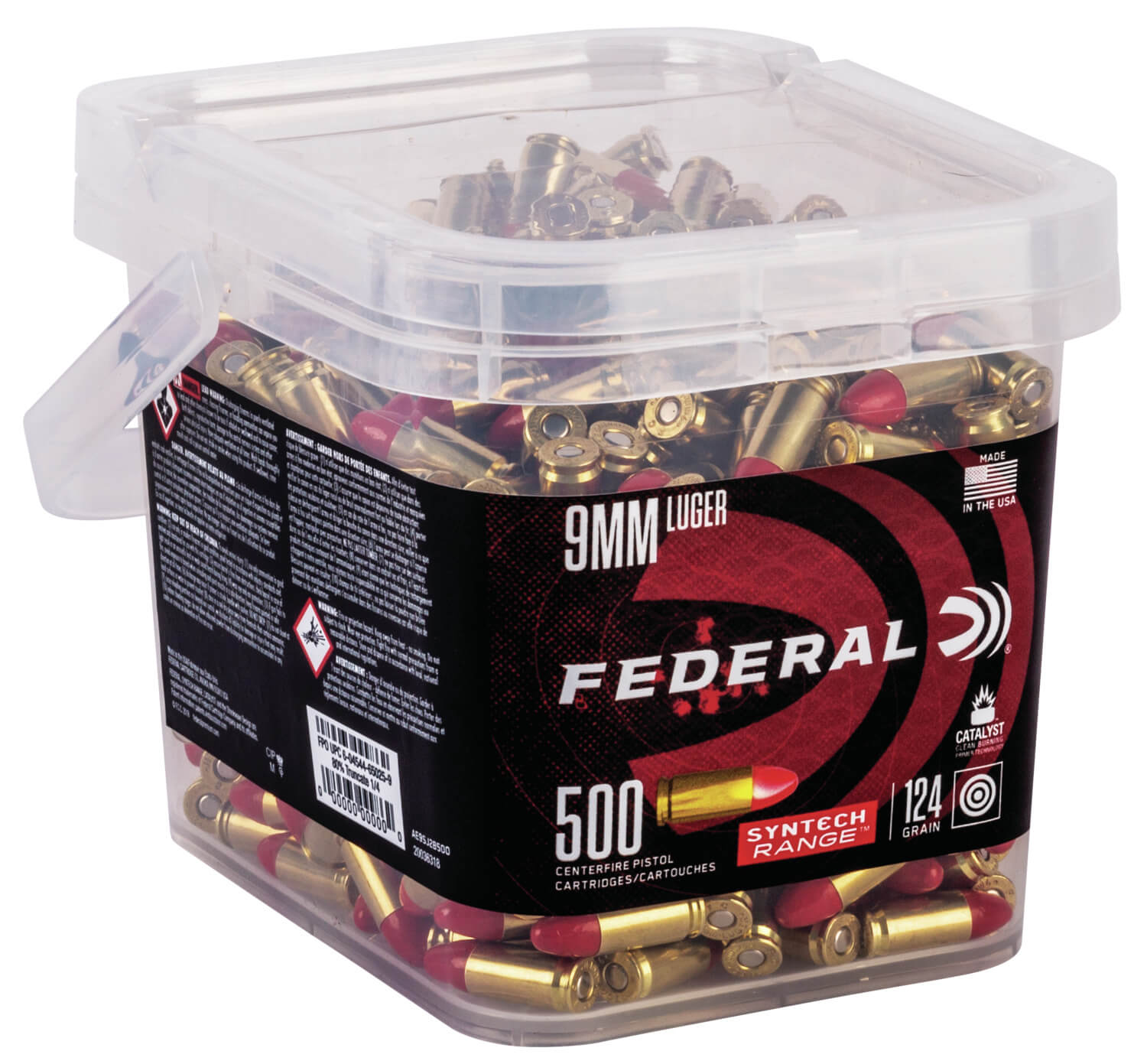 Gun News - Federal Ammunition Syntech Bulk Bucket.