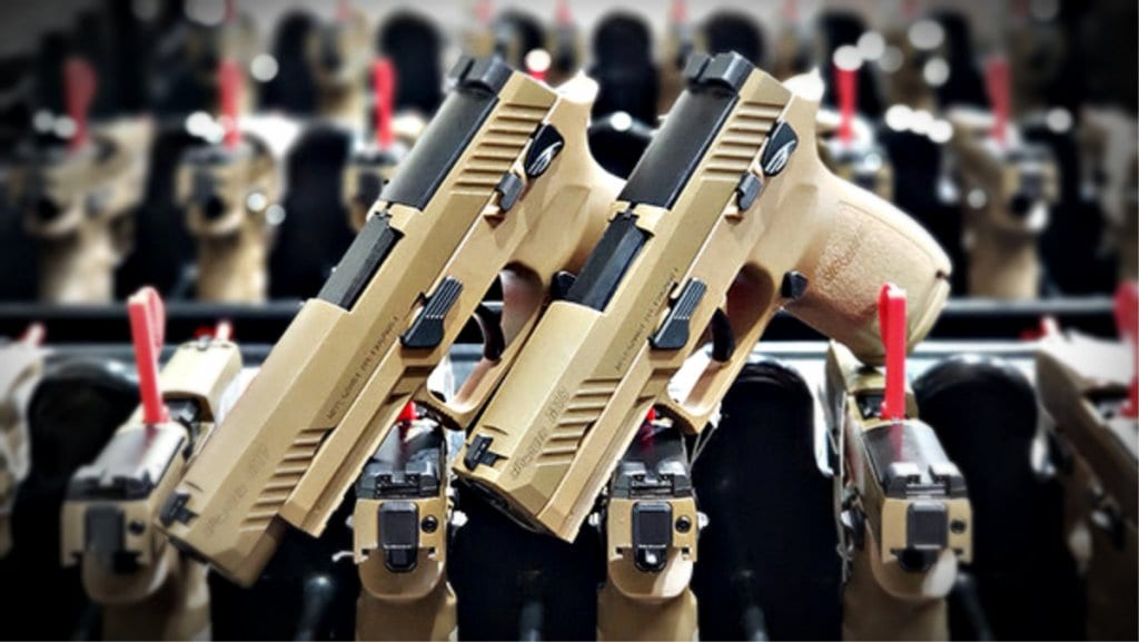 Gun News - Sig Sauer delivers 100,000 M17 / M18 to US Military ahead of time.