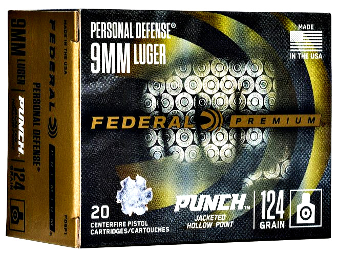 Ammunition Depot : Federal's new PUNCH defensive handgun ammunition.