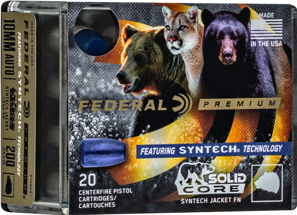 Ammunition Depot - Federal's Solid Core ammunition features a polymer jacket that should make for clean shooting with no wax rings or gas checks. To be seen at SHOT Show 2020.