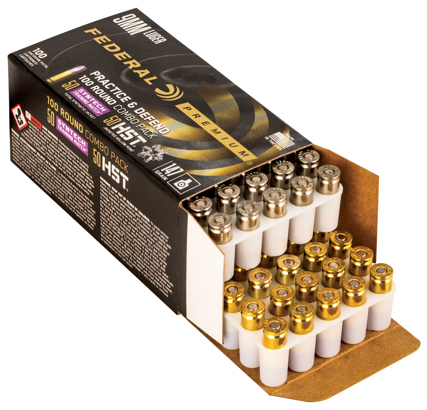 Ammunition Depot - Federal Ammunition's Practice & Defend packs.