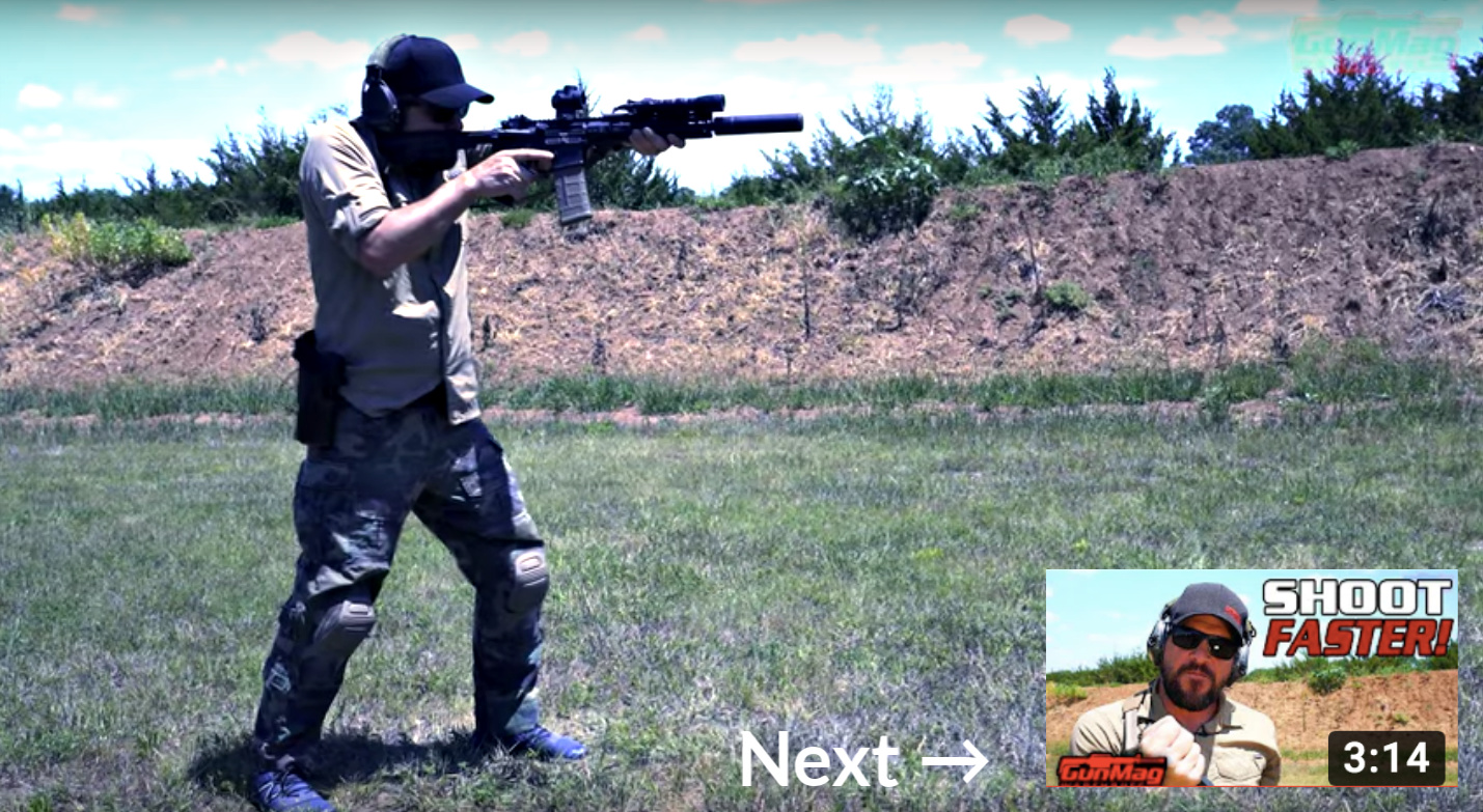 Load an AR-15 lead to next video: 5 Tips to Make Your Rifle Standing Position Better.