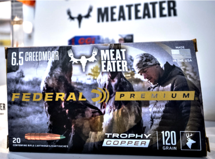 New Ammunition from Federal: expanded line of 6.5 Creedmoor. Initially a competition round, 6.5 Creedmoor is now a popular hunting cartridge. From a short-action platform with relatively mild recoil, it has a flat trajectory, high ballistic coefficients, and high velocities that combine for long-range accuracy and lethal hunting firepower.