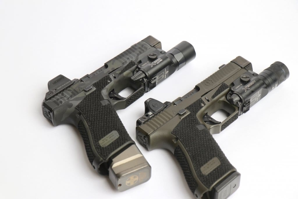 Sage signature series Glock 45s from Agency Arms