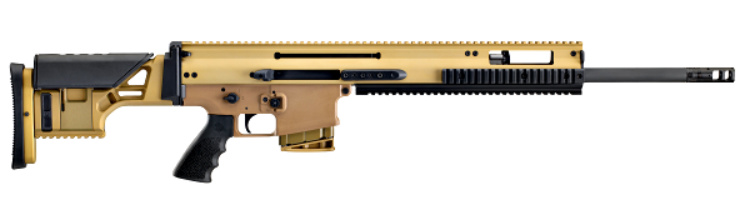 "Gun News - Something to look for at SHOT Show 2020: The FN SCAR 20S, now available in 6.5 Creedmoor, features a 20-inch, 1:8"" righthand twist barrel with SureFire ProComp 762 muzzle device, Geissele Super SCAR trigger, adjustable stock, and accepts 10- or 20-round FN SCAR 17S magazines."