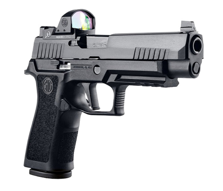 Gun News - SHOT Show 2020 - Sig Sauer says they'll have this at their booth next week. The P320 Full-Size, Compact, XFULL, and XCOMPACT RXP pistols are P320s that come with a factory installed ROMEO1PRO Reflex Optic.