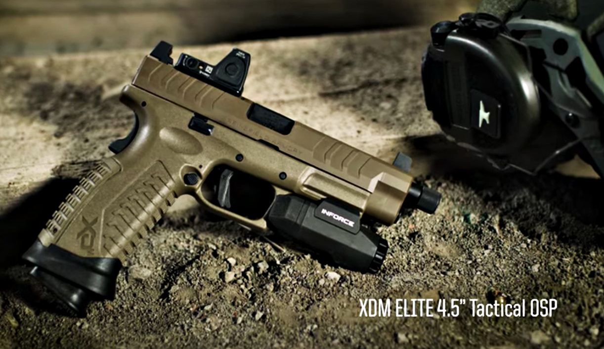 Something to look for at SHOT Show 2020: Springfield Armory's XD-M Elite features a Match Enhanced Trigger Assembly (META) system, increased-capacity magazines holding up to 22 rounds of 9mm, and removable extended and flared magwells, for fast reloads. Four purpose-driven models: competition-ready,tactical variants, duty-sized, and CCW-ready versions.