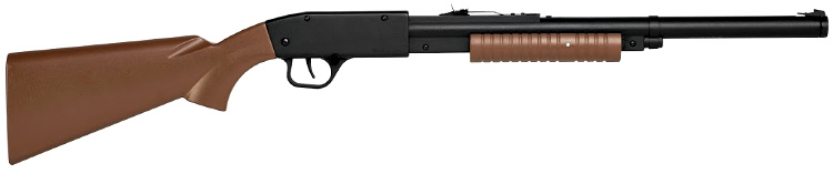 Something to look for at SHOT Show 2020 - the Winchester Model 12 BB gun. This new BB Gun produces 350 fps velocities and holds 250-plus BBs. It features a cross-bolt safety and a 14-inch length of pull. It shoots a single BB with each pump of the gun.