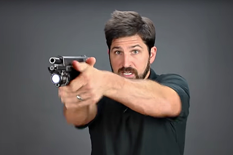 Worst Shooting Tips - #3: Ignore the sights. People who practice point shooting are always going to have a little bit of slop in their presentation.