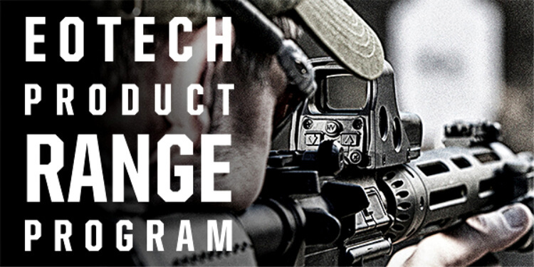 Gun News - This week, EOTECH announced a nationwide invitation to shooting range facilities to join its Product Range Program. Through the program, EOTECH loans Holographic Weapon Sights to authorized, qualified ranges for use with their rental firearms.