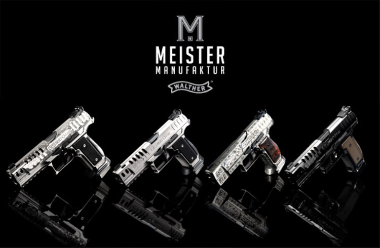 Gun News - Walther's new Meister Manufaktur program creates an exclusive line of hand-engraved, hand-finished pistols with newly developed coatings and finishes they say have never been seen before on a production line.