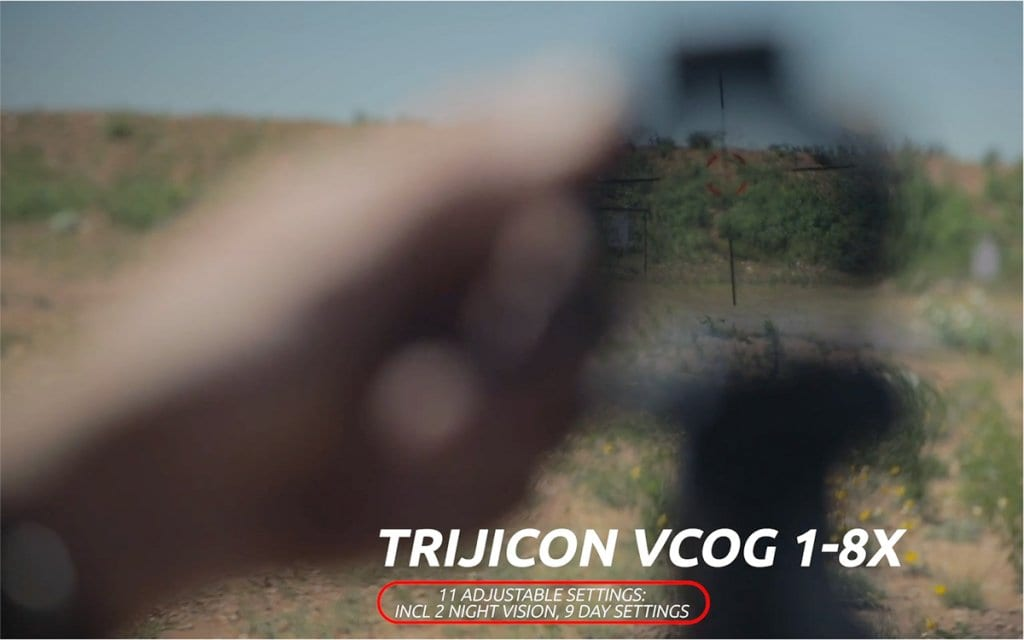Trijicon VCOG reviews: Iain Harrison of RECOIL Magazine