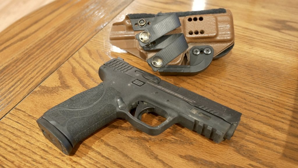 The best defensive handgun. My daily concealed carry handgun is a full-sized M&P 2.0 9mm.