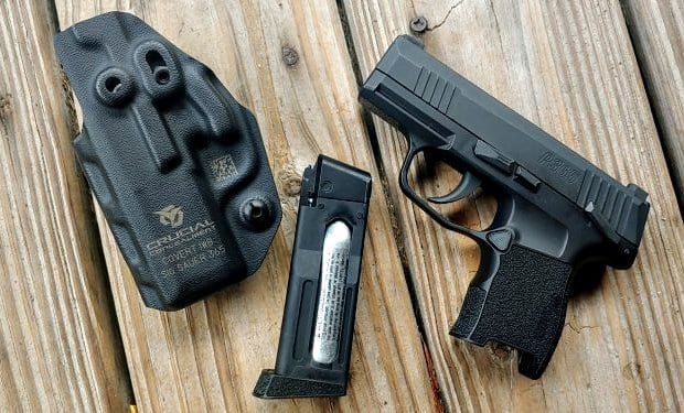 SIG P365 Air Gun, a reasonable option for training on a budget.