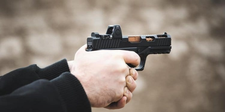 Glock-like handgun built using 80 Percent Arms parts.