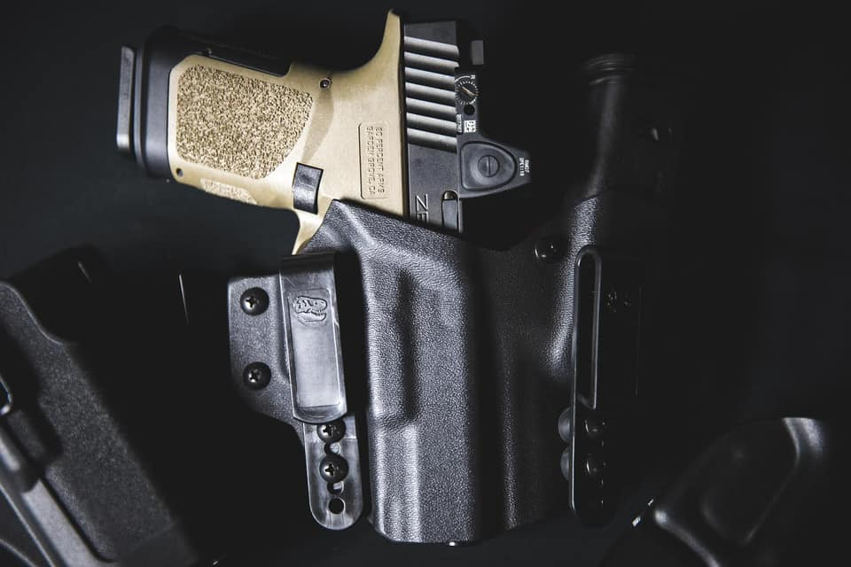 The GTS-9 fits several reputable holsters.