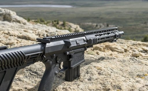 The 500 Auto Max in an AR pistol configuration