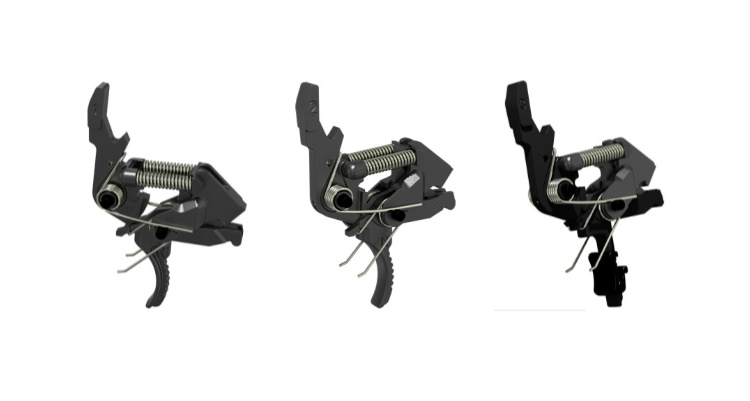 Gun News - HIPERFIRE X2S Two-Stage AR Triggers, Mod 1, Mod 2, and Mod 3.