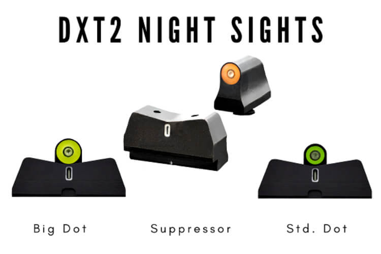 New Line Extensions for Second-Generation DXT2 Night Sights